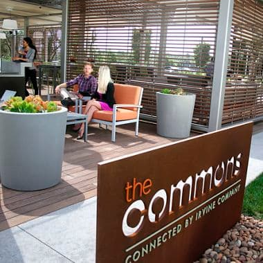 Photography of The Commons at Sand Canyon Business Center, NextGen Campus Office, Irvine, Ca