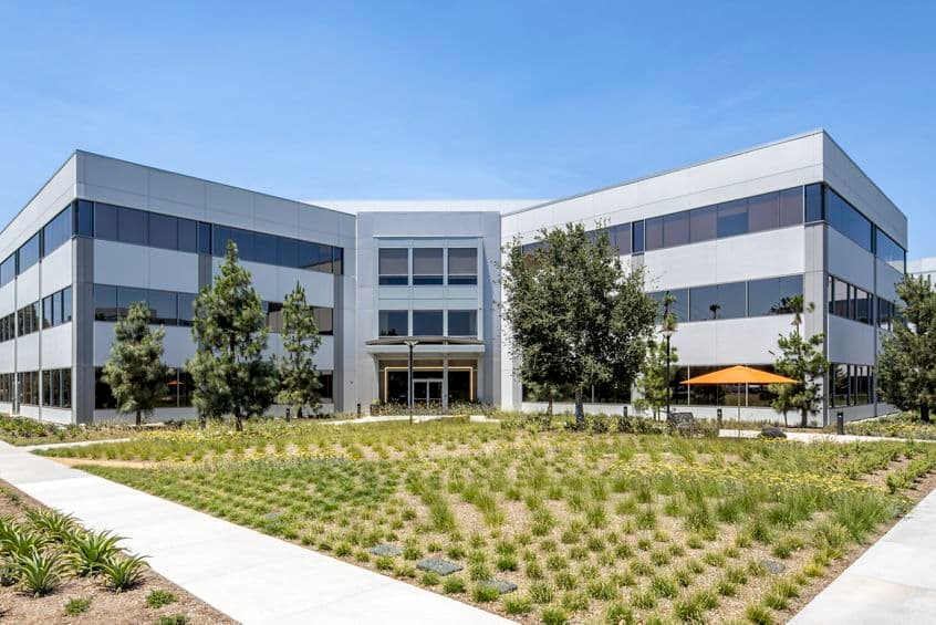 Exterior view of 15545 Sand Canyon Avenue at Sand Canyon Business Center in Irvine, CA.