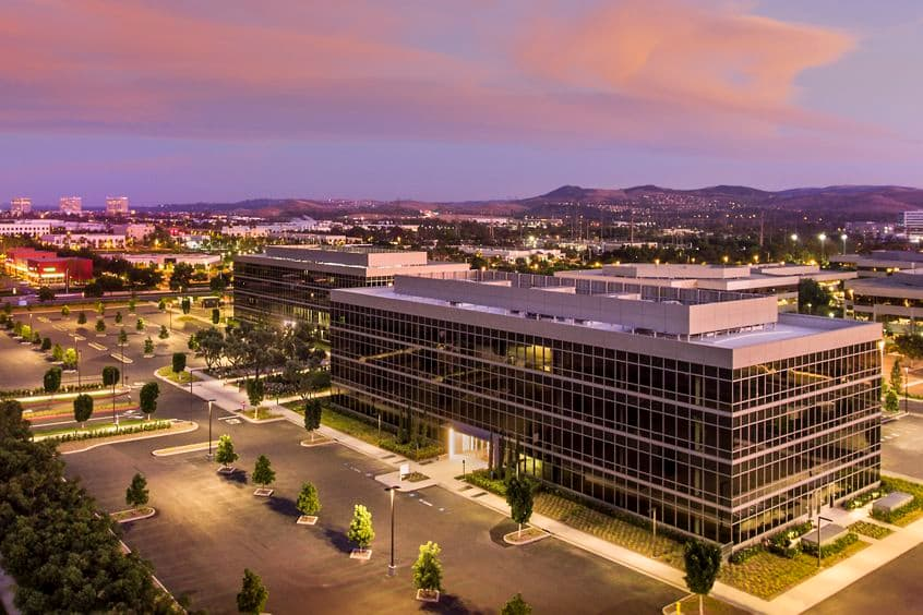 Twilight photography of 15485 and 15495 Sand Canyon Avenue,  Irvine , CA 92618