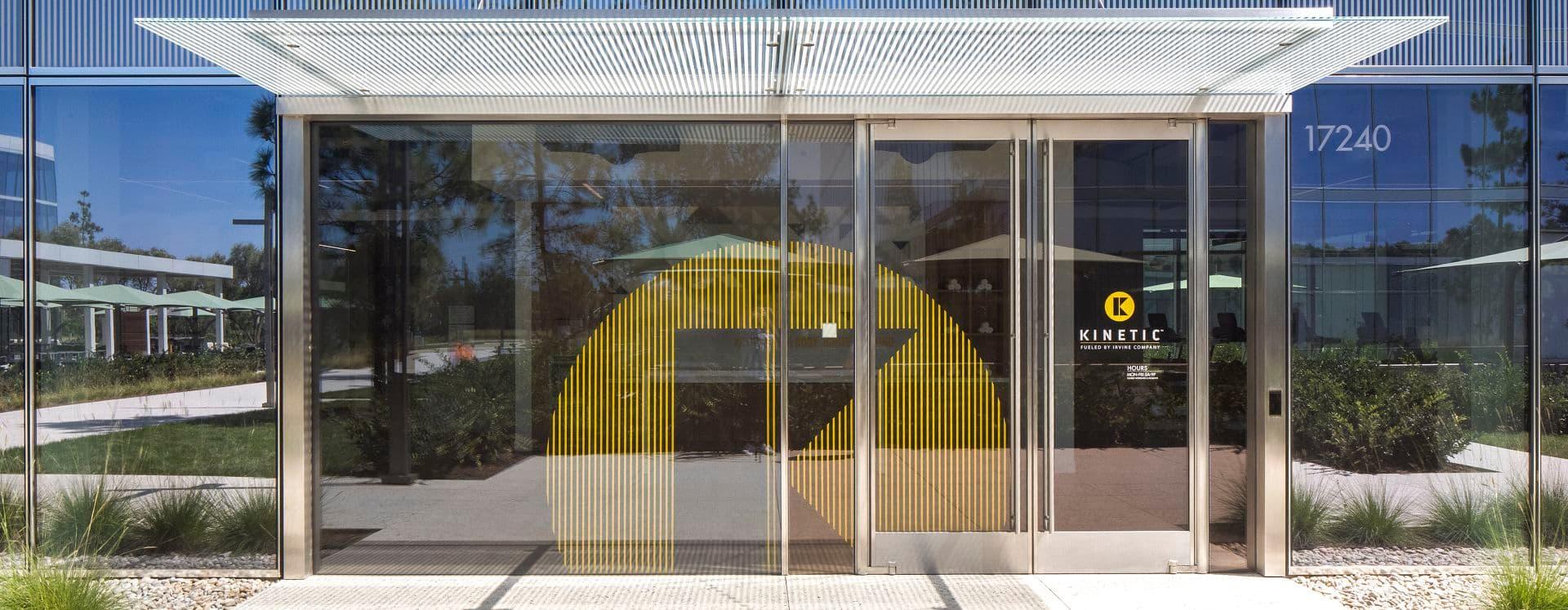 Exterior key shots of Spectrum Terrace office building in Irvine, CA.