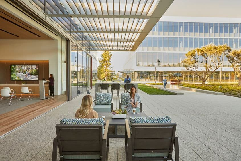 Lifestyle photography of The Venue at Spectrum Terrace, Phase 2, in Irvine, California.