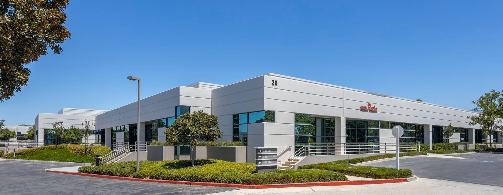 Exterior View of 20 Fairbanks at Tripointe in Irvine, CA.