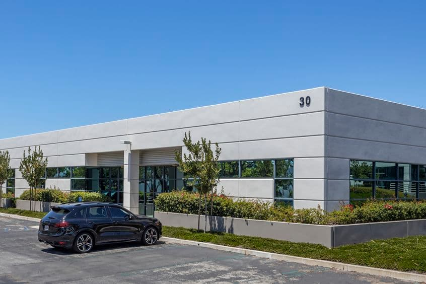 Exterior view of 30 Fairbanks at Tripointe in Irvine, CA.