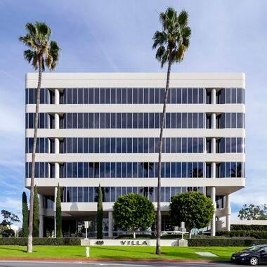 Building hero photography of 450 Newport Center Drive in Newport Beach, CA