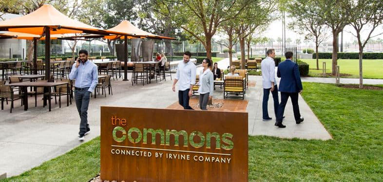 The Commons at Newport Center.