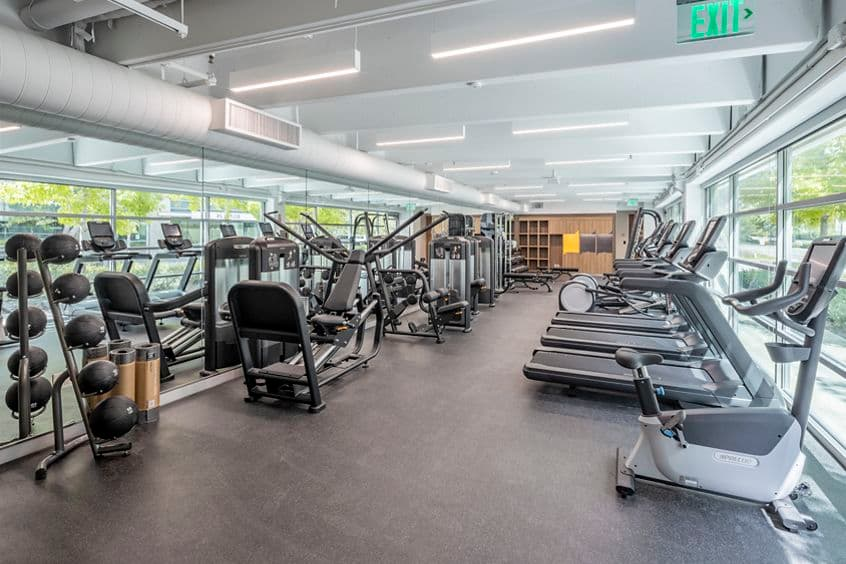 Interior view of Kinetic at Gateway at Torrey Hills in San Diego, CA