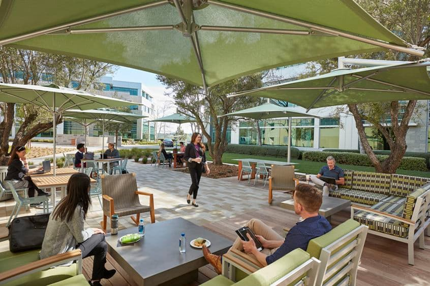 Lifestyle photography of The Commons at Gateway at Torrey Hills in San Diego, CA