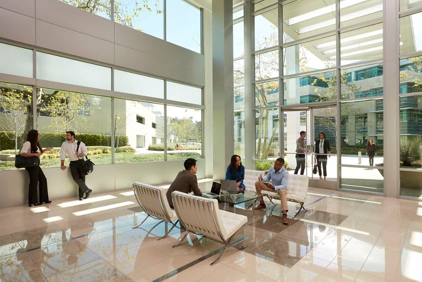 Lifestyle photography of the lobby at 3580 Carmel Mountain Road, San Diego, Ca