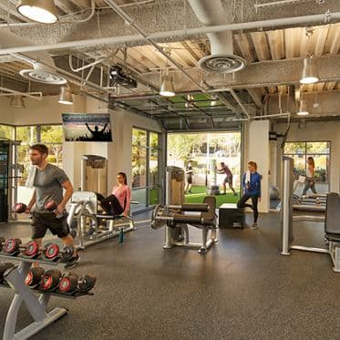 Fitness Room at 12544 High Bluff Drive, San Diego, CA