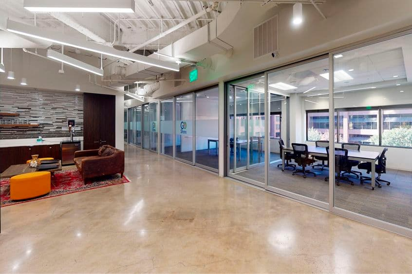Interior view of suite 300 at 101 West Broadway, in San Diego, California.