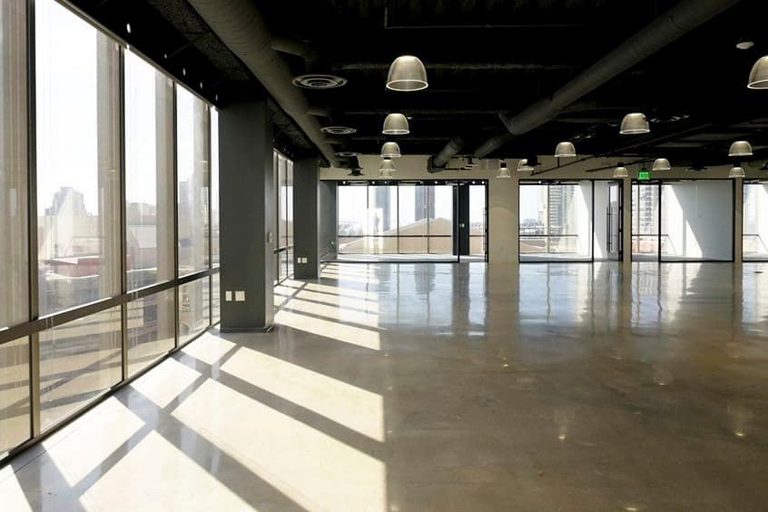 Interior view of Suite 700 at 225 Broadway, in San Diego, California.