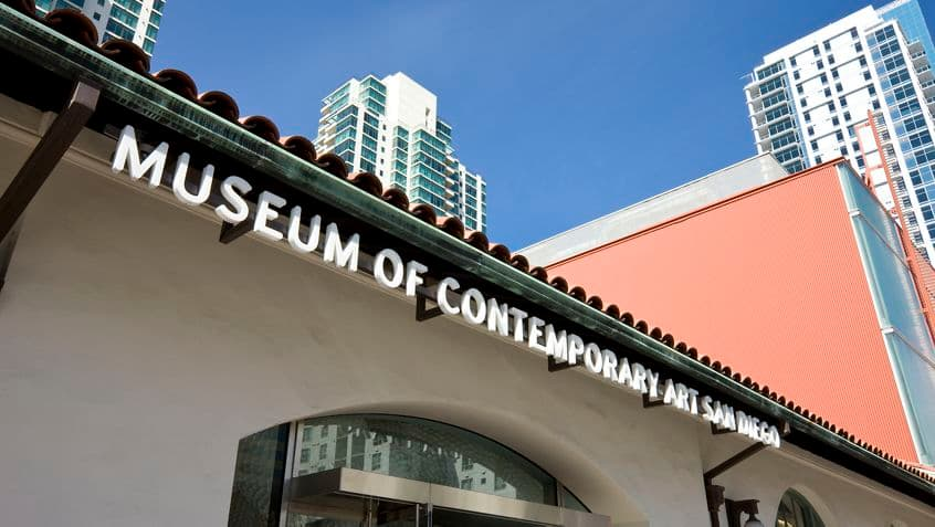 Views of Museum of Contemporary Art at One America Plaza Office Tower. Moore 2010. Shared Drive Submission - March 18, 2010.