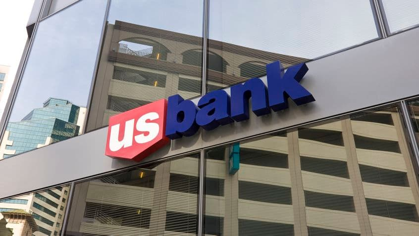 US Bank at One America Plaza.