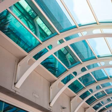 A stock photo of the San Diego Convention Center in San Diego, California.