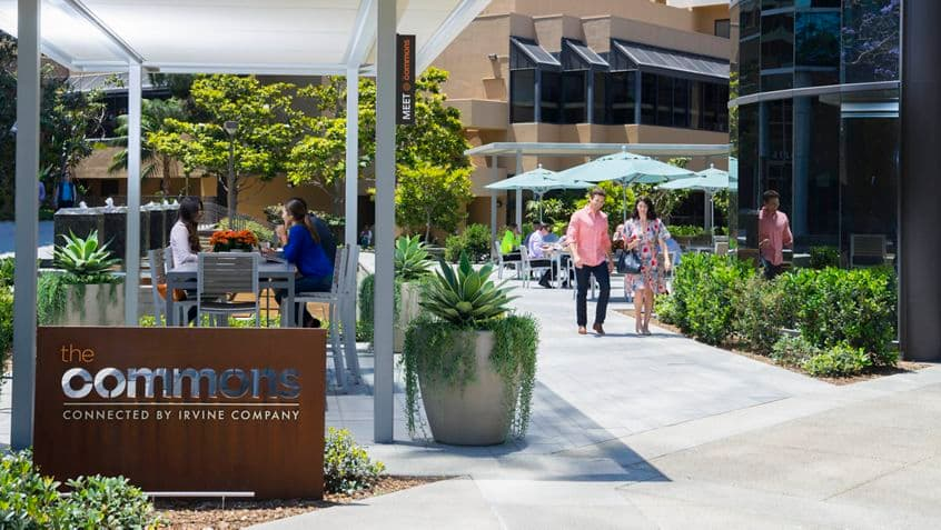 Exterior photography of the Commons at Executive Square, 4225-4275 Executive Square, La Jolla , CA 92037