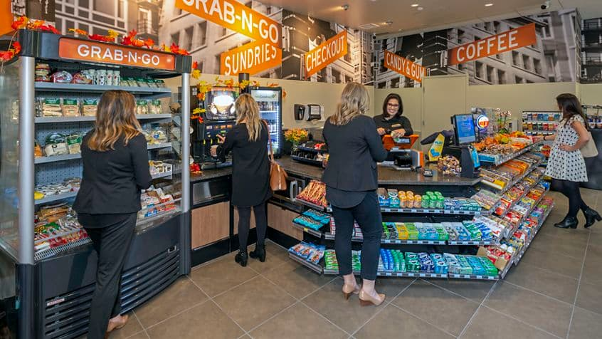 Photography of Street Corner Convenience Store located at The Plaza - 4365 Executive Drive, Suite 150 in San Diego, CA