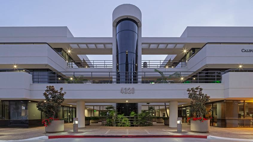 Exterior building photography of 4320 La Jolla Village Drive - The Plaza in San Diego, CA