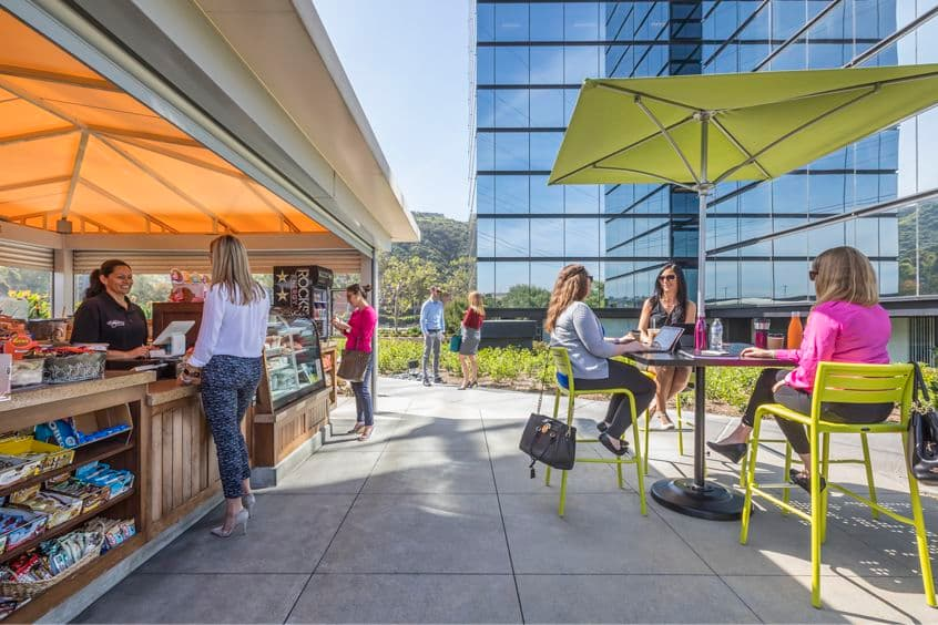 Image of Eddy M's Cafe Cart at Centerside, San Diego, California