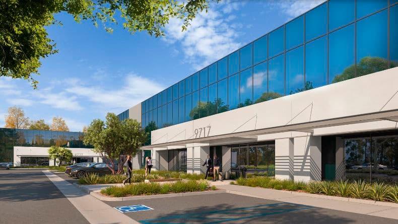Render of Cornerstone Corporate Center, San Diego CA