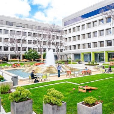 Lifestyle photography of The Commons at Silicon Valley Center in San Jose, CA