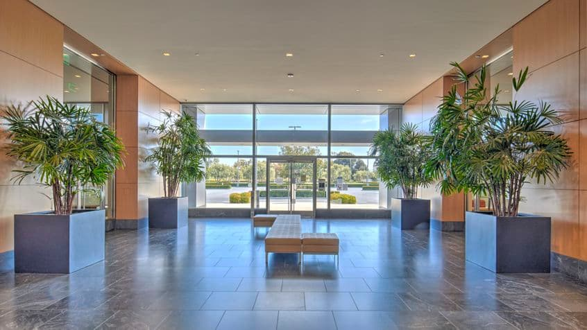 Photography of lobby in 5455 Great America Parkway at Santa Clara Gateway, in  Santa Clara, California.