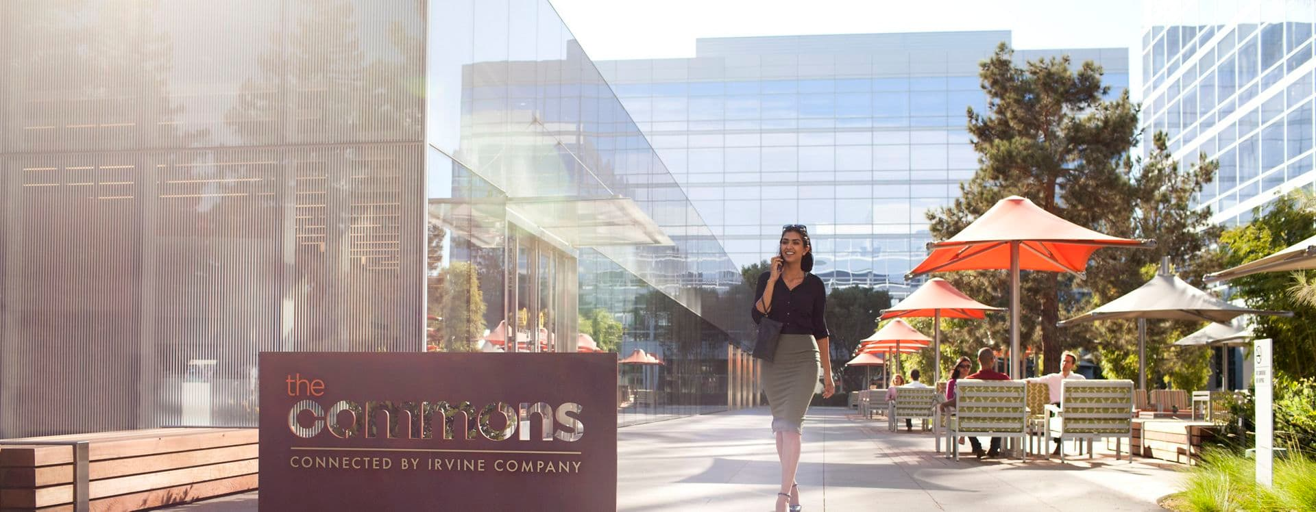 Lifestyle photography of the Commons, at Santa Clara Square, Phase II