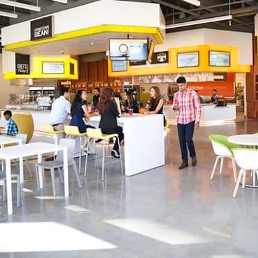 Photography of the Kitchen at Santa Clara Square, Phase II amenity, Santa Clara, Ca