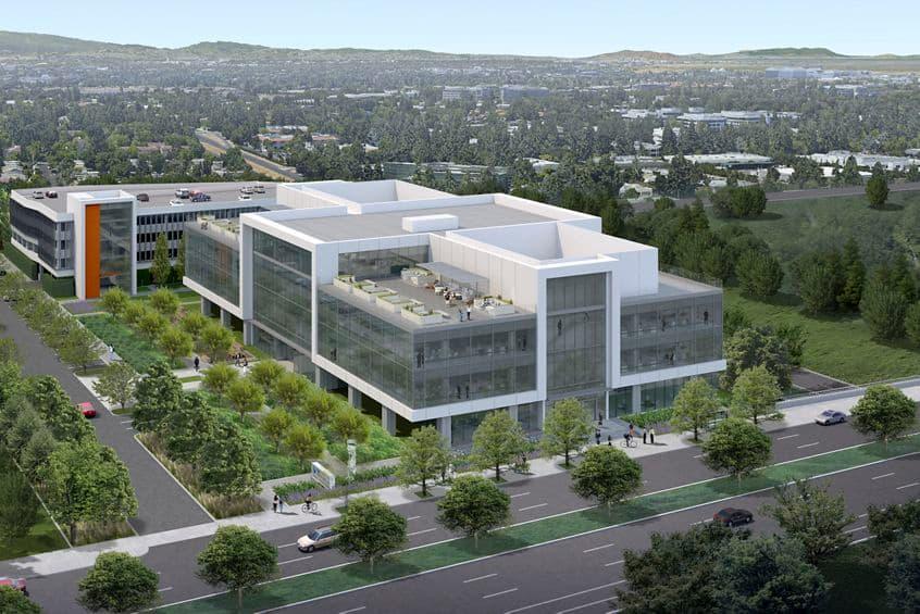 Rendering view of 275 North Mathilda in Sunnyvale, CA